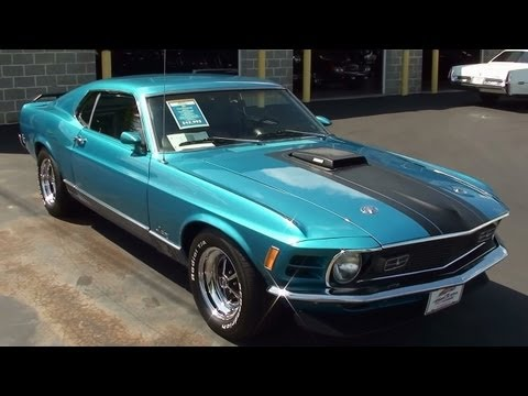 1970 Ford Mustang Mach 1 351 Cleveland V8 Fastback
