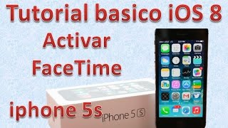 Tutorial y Guía de uso Iphone 5s parte 99 Cómo usar FaceTime