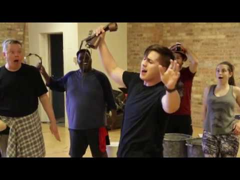 """Urinetown, The Musical"" Rehearsal footage of ""Run, Freedom Run"""