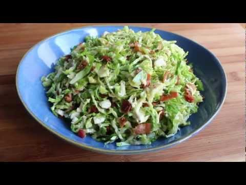 Brussels Sprouts with Warm Bacon Dressing