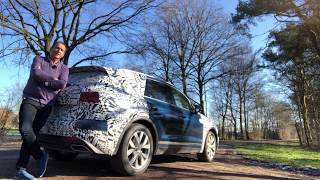 2018 Volkswagen Touareg Prototype - First Test Drive Video Review