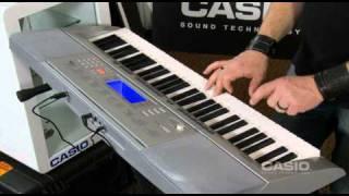 CASIO TRAINING - CTK 4000, How to create multi track recordings