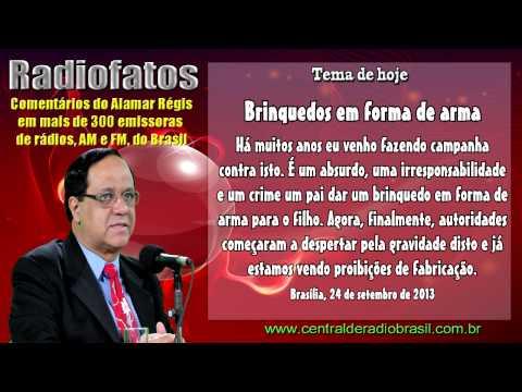 BRINQUEDOS EM FORMA DE ARMA. UM ABSURDO!