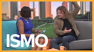 Finnish Comedian Ismo breaks down the English language on Great Day Houston