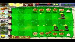 Plants Vs. Zombies Zombotany Strategy - No Wall/Tall Nuts