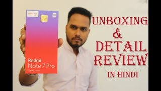 Redmi Note 7 Pro Unboxing & Detail Review