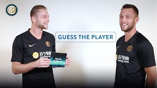 MILAN SKRINIAR + STEFAN DE VRIJ | GUESS THE PLAYER! | Manchester United vs Inter