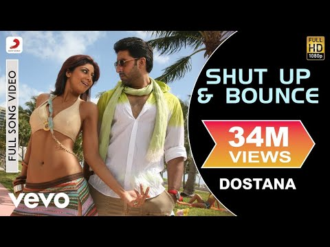 Dostana - Shut Up & Bounce Video | Shilpa Shetty, Abhishek, John video