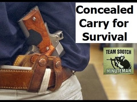Concealed Carry for SHTF