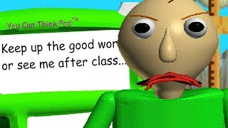 BALDI REVEALS A NEW HIDDEN MESSAGE.. | Baldis Basics in Education and Learning (NEW UPDATE)