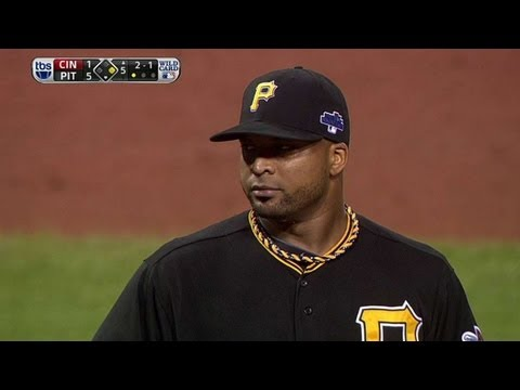 Pirates go around the horn on Heisey