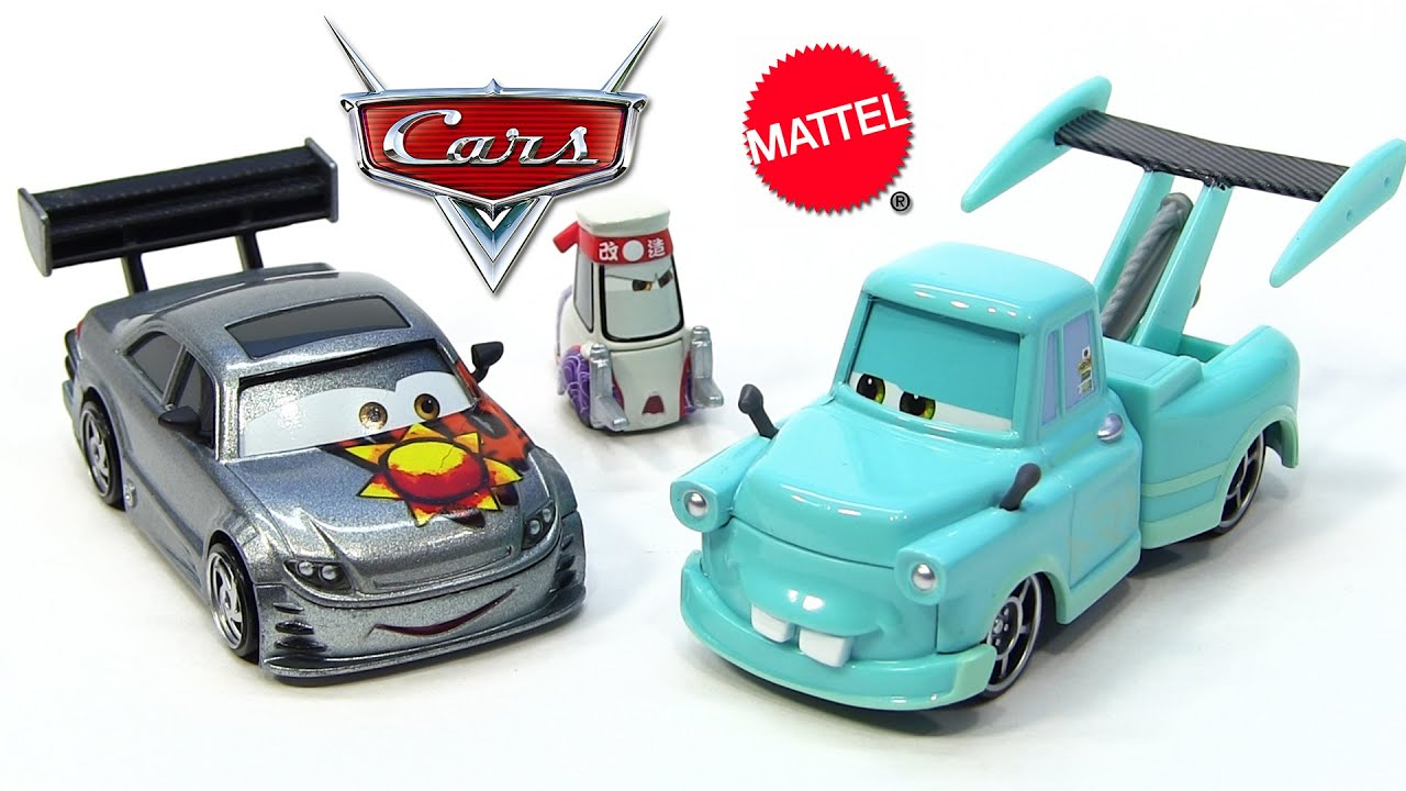 Cars 3 Photos Mater Die Cast Cars Pack