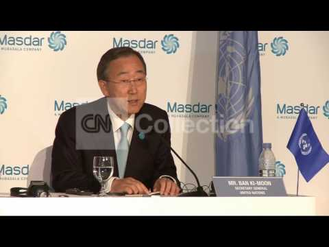 BAN KI-MOON ON TUNISIA