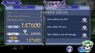 Faris Coop 6 Turns 148,000 Score!!! Dissidia Final Fantasy Opera Omnia