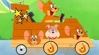 Download Tom and Jerry / Boomerang Make and Race 3 / Cartoon Games Kids TV 3Gp Mp4