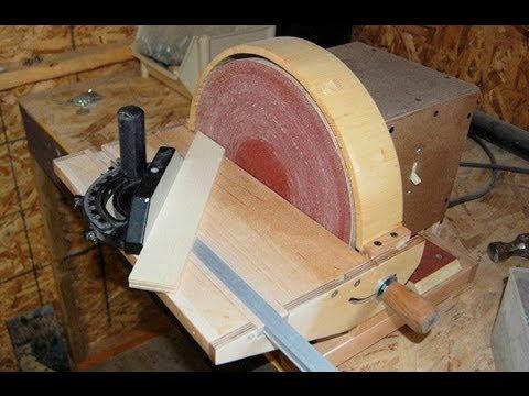Disk zımparalama makinası yapımı