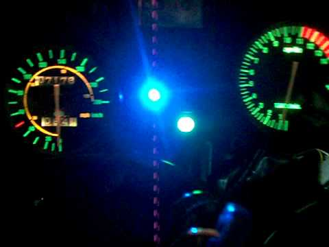 LED BLU per apertura VALVOLA RAVE su RS 125
