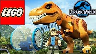 ДИНОЗАВРЫ. Тираннозавр АТАКУЕТ! Мультики про Динозавров Мир Юрского Периода Лего ТИРЕКС LEGO T-REX