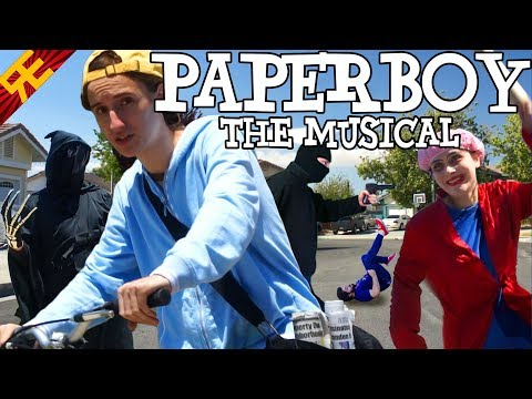 PAPERBOY THE MUSICAL! (game parody song)