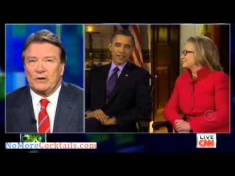Steve Kroft on Piers Morgan admits that 60 Minutes gives Obama softball questions