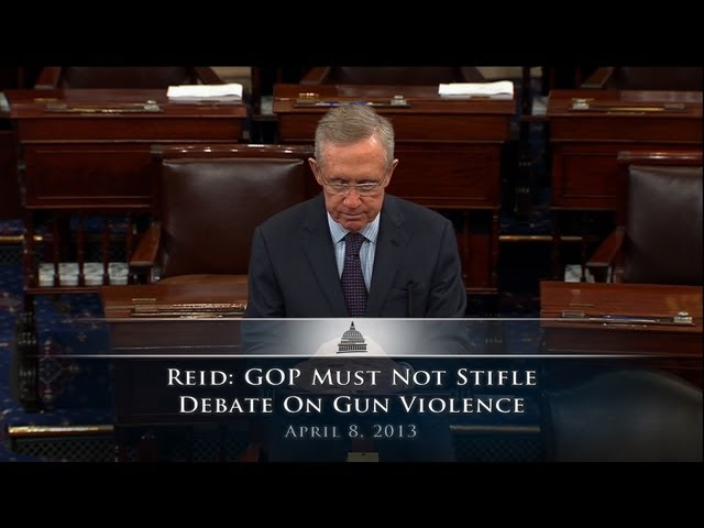 Reid: Every Idea to Curb Gun Violence Should Get a Vote