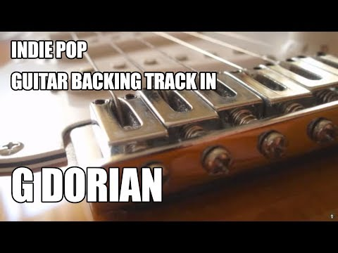 Indie Pop Guitar Backing Track In G Dorian