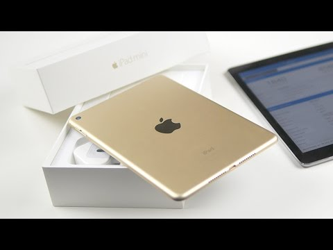 Распаковка iPad mini 4 и сравнение с Air 2