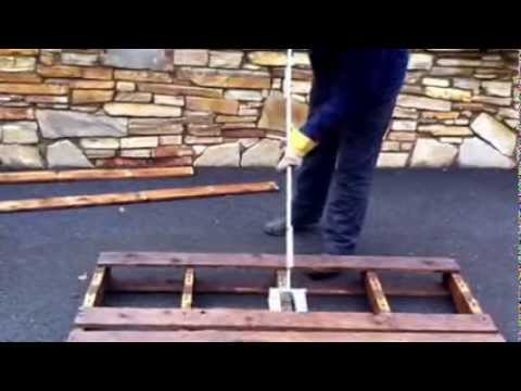 Pallet buster bar, pallet breaking, pallet dismantler 2 way and 4 way ...