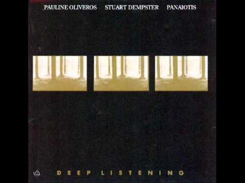 Pauline Oliveros / Stuart Dempster / Panaiotis - Lear