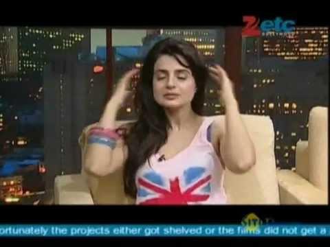 Ameesha Patel With Komal Nahta