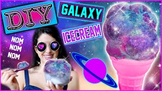 DIY Galaxy Ice Cream! | Eat The Milky Way For Dessert!