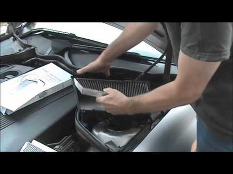 how to change the air cabin filter on a mercedes ml350. Black Bedroom Furniture Sets. Home Design Ideas