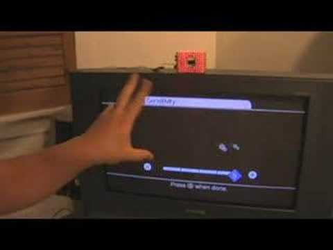 Tracking fingers with the Wii Remote Video
