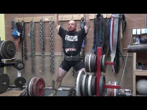 POWERLIFTING TRAINING: MONSTER GARAGE GYM Image 1