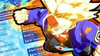 Trunks Breakdown - Dragon Ball FighterZ Tips & Tricks