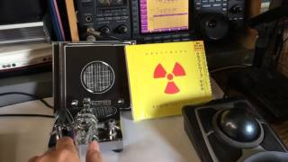 Me playing Kraftwerk Radioactivity Morse