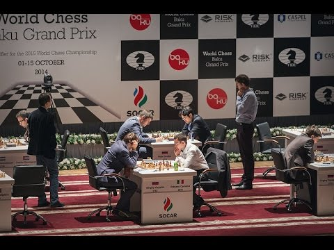 FIDE GP Baku 2014 - Ronda 1 (MI Michael Rahal)
