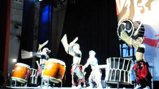 Aska Japanese Drum Troupe Pushkin City 02 05 2014