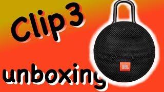 JBL Clip3 Bluetooth Speaker - unboxing