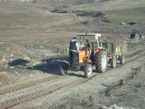 derinkuyu traktor yarısları traktor cekiştirme utb 640