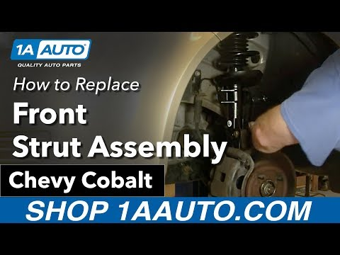 How To Install Replace Front Strut and Spring Chevy Cobalt Pontiac G5 05-10 1AAuto.com