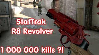 CS:GO - 1 000 000 kills with StatTrak R8 Revolver