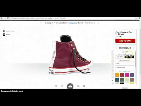 how to design your own shoes online
