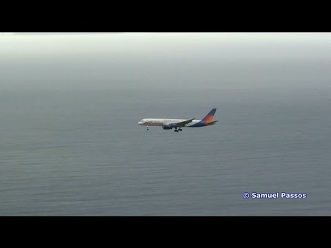 Windy || Madeira - The European Kai Tak || Striking Approachs || Plane Spotting