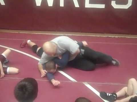 Arm Bar wrestling technique.  Youth wrestling coach.  South Saint Paul Minnesota Image 1