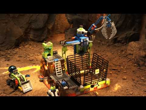 LEGO Power Miners - Claw Catcher to LavaTraz