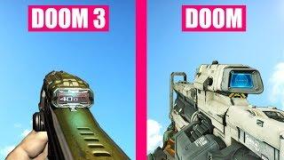 DOOM Gun Sounds vs DOOM 3