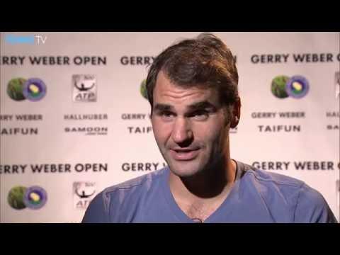 Federer Wins Halle 2016 Opener