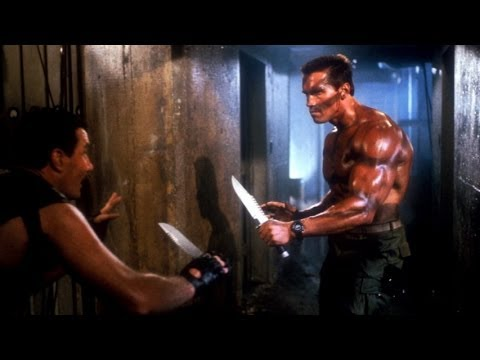 Top 10 Hollywood Movie Knife Fights video