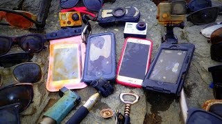 River Treasure: 4 iPhones, 2 GoPro's, Pentax WG2 And MOAR!!